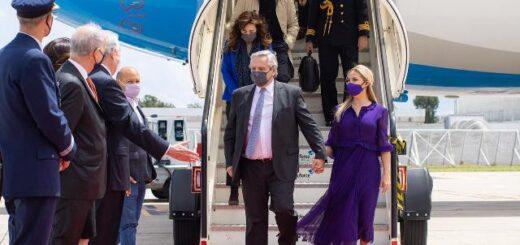 El presidente Alberto Fernández llegó a Portugal