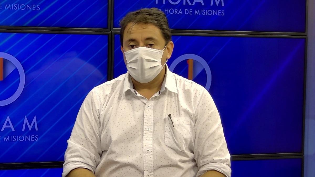 El diputado provincial Martín Cesino