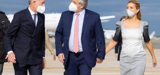 El presidente Alberto Fernández arribó a París para continuar con su gira europea