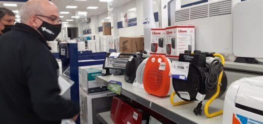 Venta de electrodomésticos: ¿cuánto cuesta combatir el frío en Posadas?