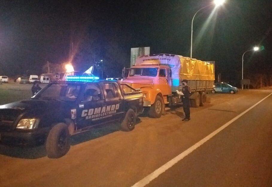 camiones con soja ilegal