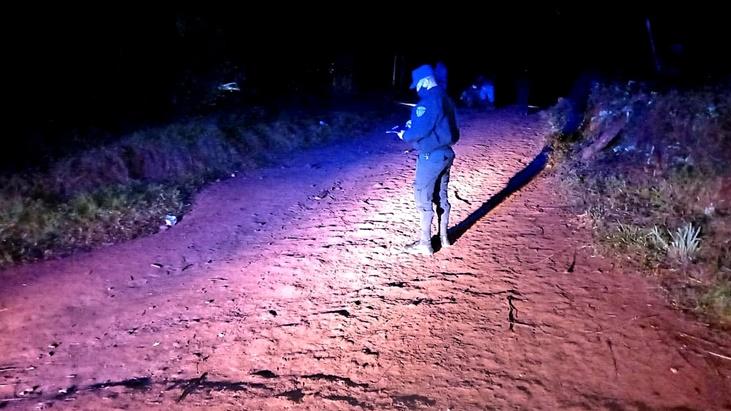 Un soldado del Ejército permanece internado grave tras despistar con su moto en Colonia Oasis