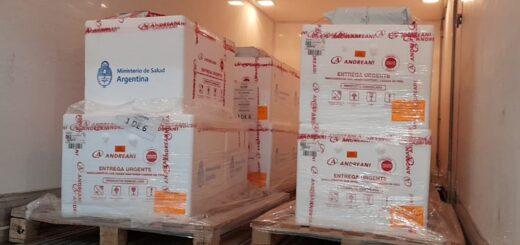 Misiones recibió hoy 13.800 dosis de la SputniK V del componente 1