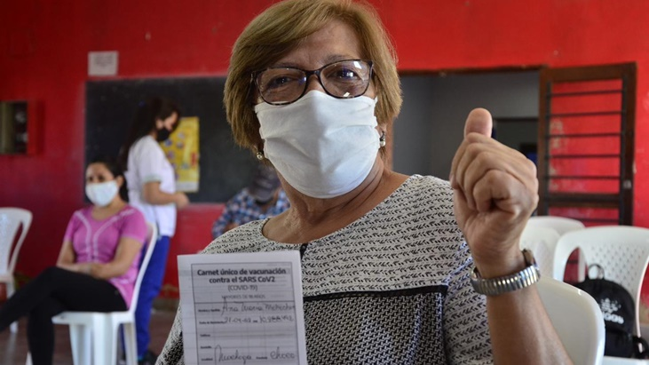 Distribuyen 804.000 dosis de AstraZeneca: Misiones recibirá 24 mil vacunas