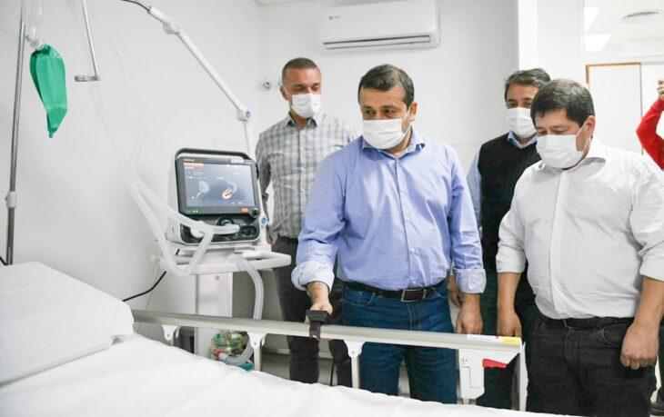 Misiones sigue ampliando su infraestructura de salud: el gobernador Herrera Ahuad recorrió las nuevas instalaciones de los hospitales de Jardín América y Eldorado