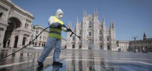 Italia registró la menor cantidad de muertes diarias