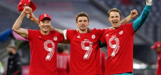Bayern Munich ganó su noveno título consecutivo de Bundesliga