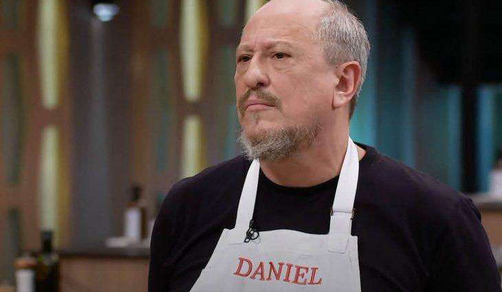 Daniel Aráoz fue eliminado por segunda vez de MasterChef Celebrity