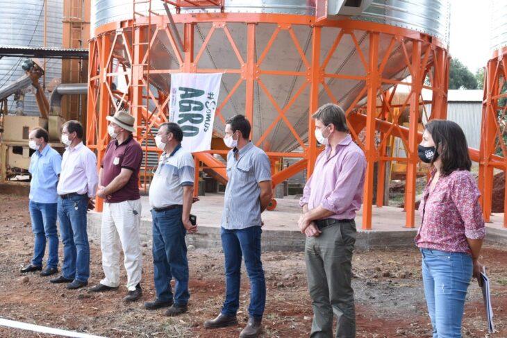 Inauguraron una ampliación de centro de acopio y acondicionamiento de granos en San Antonio