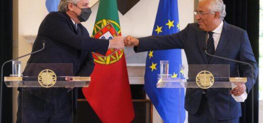 El Primer Ministro de Portugal expresó su apoyo a la posición de la Argentina en las negociaciones con el FMI