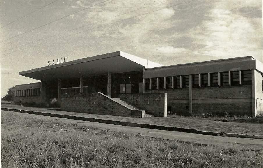 Hospital Samic Eldorado poco antes de su inauguración.