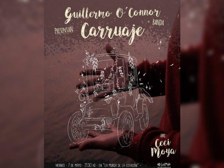 El artista misionero misionero Guillermo O'Connor presentará su segundo disco en Posadas