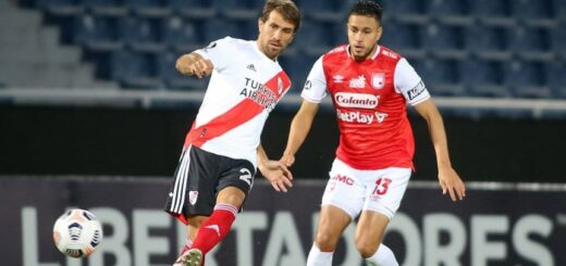Copa Libertadores: River e Independiente Santa Fe igualaron sin goles en Asunción