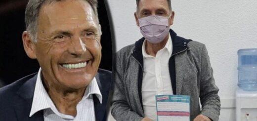 Miguel Ángel Russo recibió la primera dosis de la vacuna contra el coronavirus