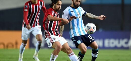 Copa Libertadores: Racing y San Pablo igualaron sin goles en Avellaneda