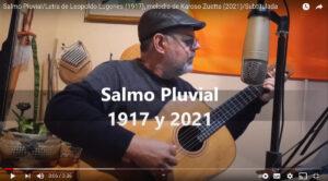 Karoso Zuetta compuso un tema musical con un poema de Leopoldo Lugones
