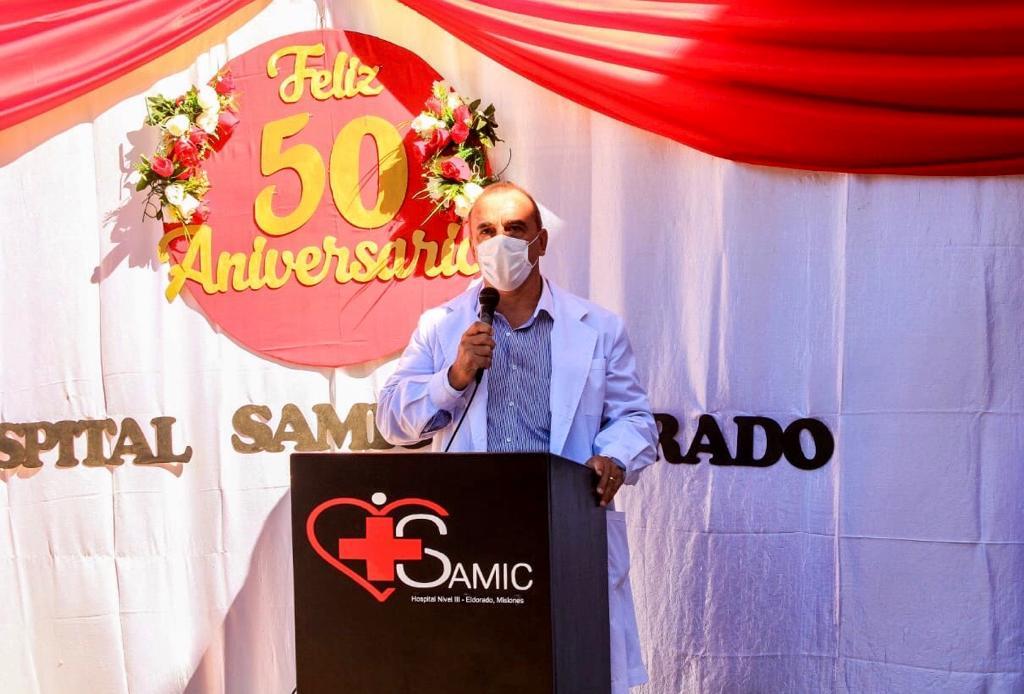 Dr. Pipo Durán- director del Hospital Samic Eldorado.
