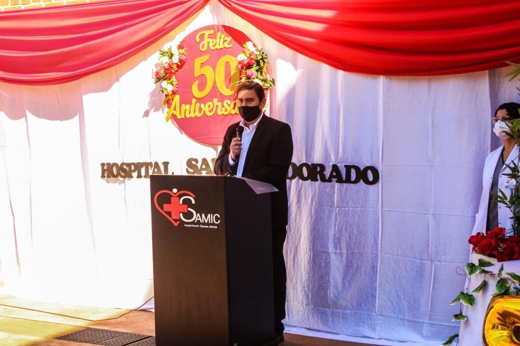 Dr. Fabio Martínez, intendente de la ciudad de Eldorado.