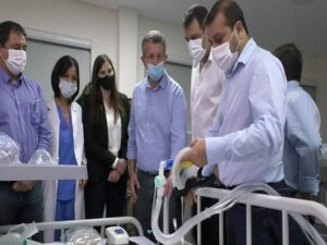 """El gobierno de Misiones fortalece el sistema de salud, """"no sólo por la pandemia, sino para atender todo tipo de contingencias"""", aseveró Herrera Ahuad"""