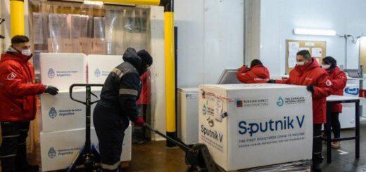 Comienza la distribución de 650.400 dosis del componente 1 de la Sputnik V y 18 mil vendrán a Misiones