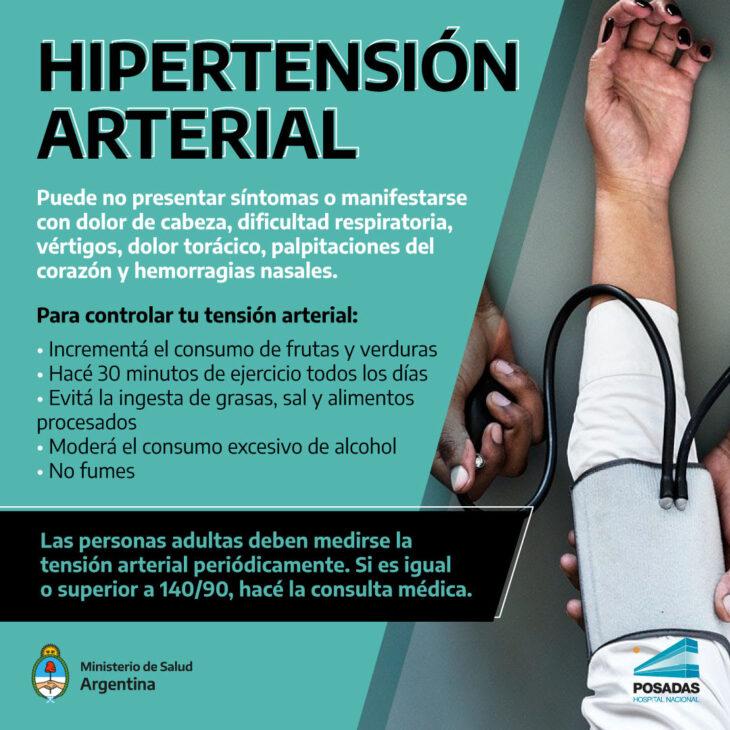 Hipertensión Arterial: una condición que no suele presentar síntomas