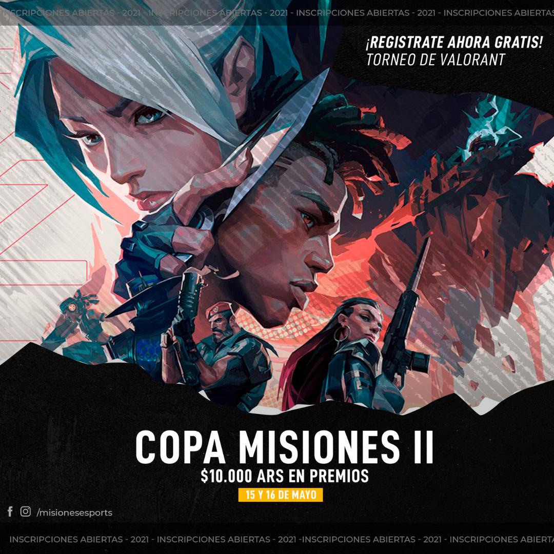 Copa Misiones de Valorant