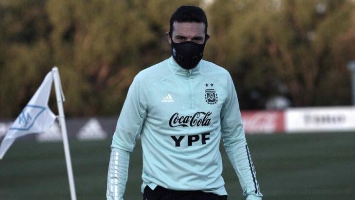 Lionel Scaloni probó un equipo con varias sorpresas de cara al duelo de la Selección ante Chile