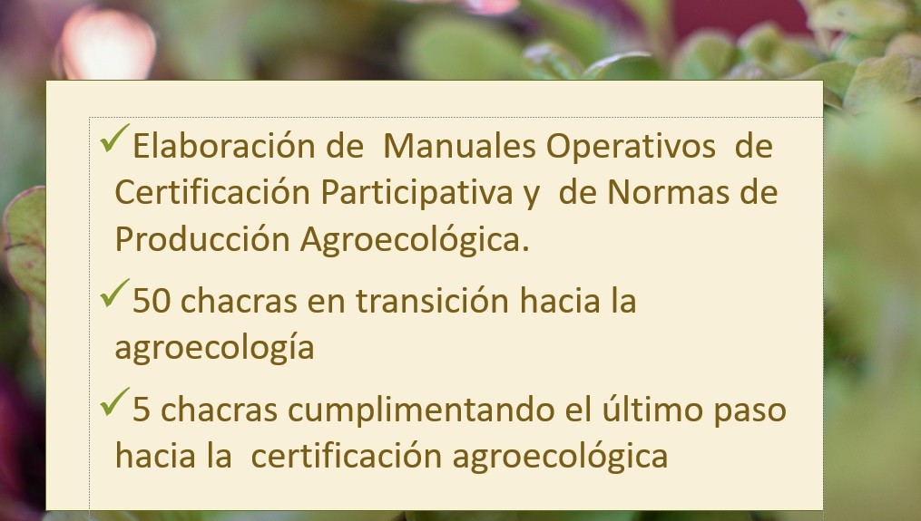 agroecología