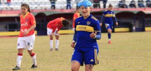 La misionera Yamila Rodriguez marcó dos tantos en la goleada histórica de Boca Juniors