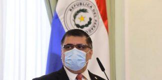 vacunación en Paraguay Julio Borba