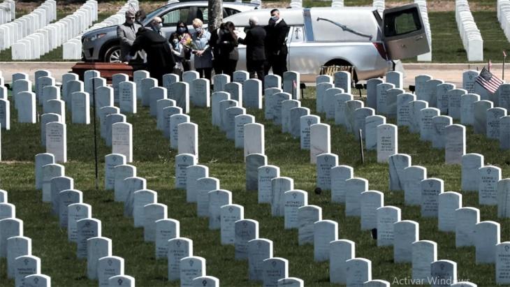 Estados Unidos superó los 600.000 muertos desde el inicio de la pandemia