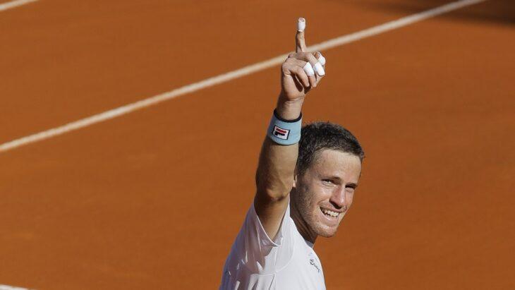 Tenis: Diego Schwartzman debutó con una victoria en Roland Garros