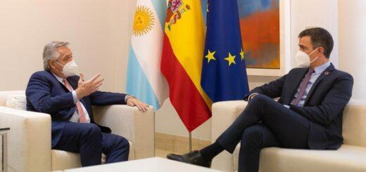 Pedro Sánchez llega al país para reunirse con Alberto Fernández