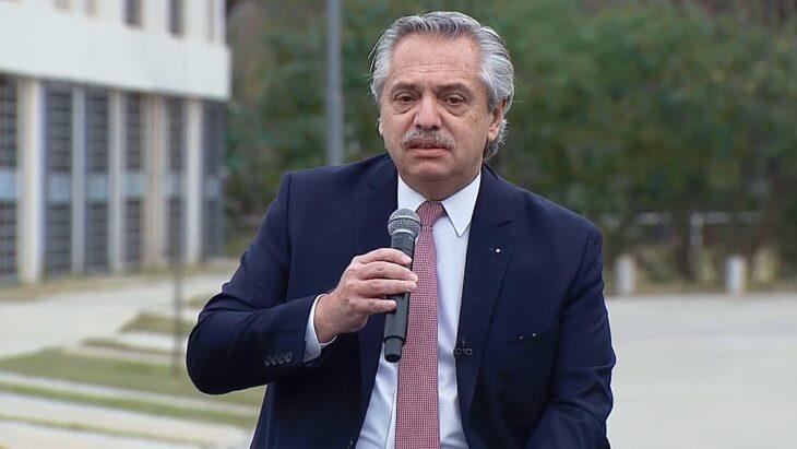 Alberto Fernández aseguró que, aún en pandemia, «pude cumplir infinidad de promesas de campaña»