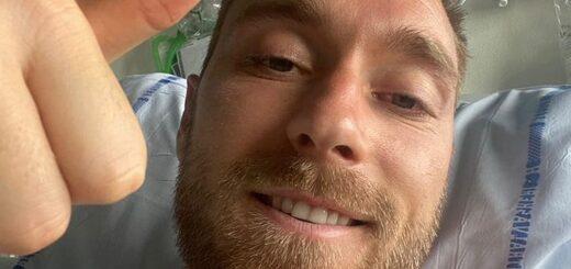 El danés Christian Eriksen llevará implantado un desfibrilador para estar mejor controlado