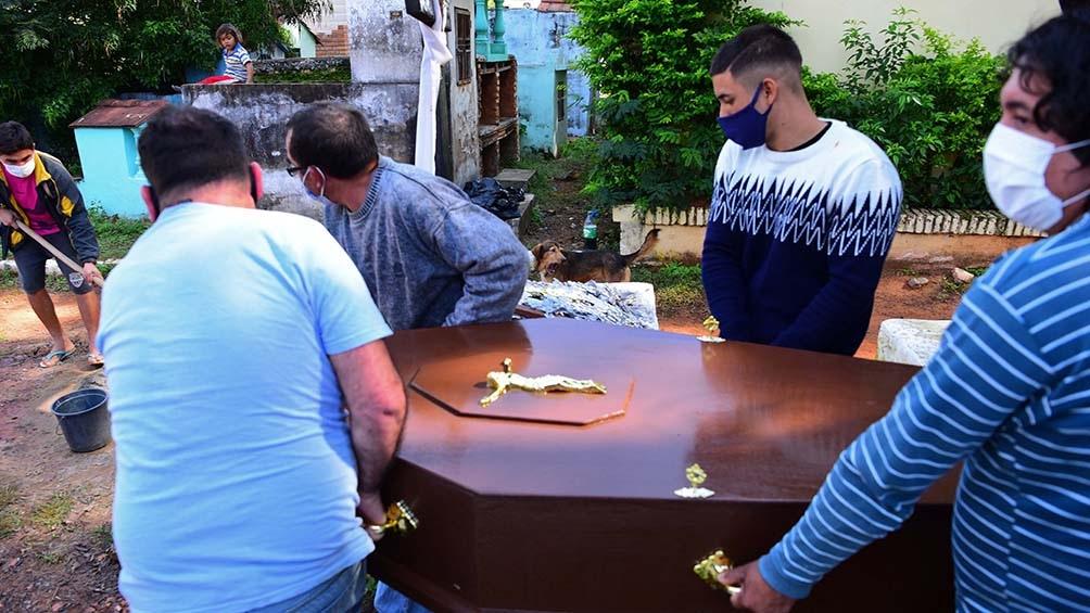 fallecidos por coronavirus en Paraguay