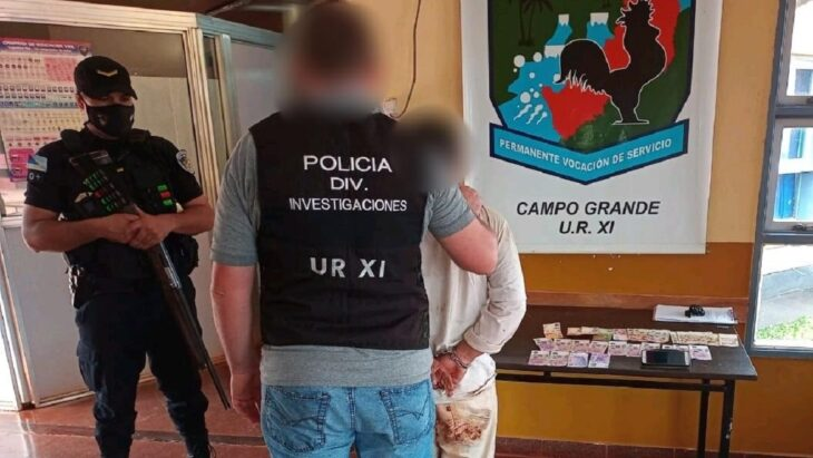 Detuvieron a un hombre acusado de robar al menos dos viviendas en Campo Grande