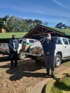 donación realizada a Coordinación Zona Norte del Ministerio de Prevención