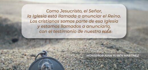 """Carta del obispo de Posadas,Juan Rubén Martínez: """"Evangelizar y humanizar la cultura"""""""