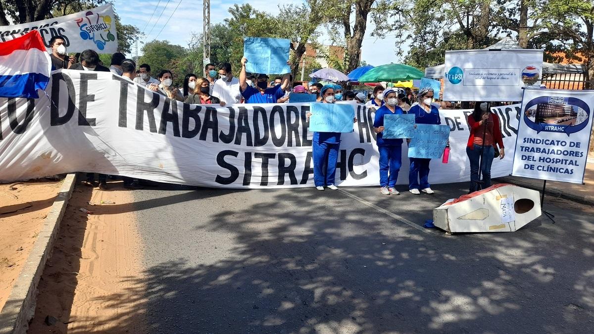 Crisis sanitaria en Paraguay