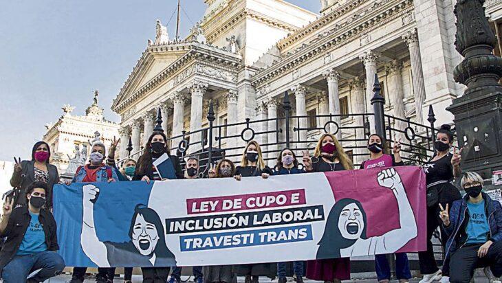 Diputados nacionales dieron media sanción al proyecto de ley del cupo laboral trans