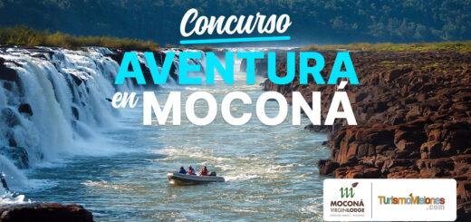 Participá del Concurso Aventura en Moconá y ganá 2 noches de alojamiento, con pensión completa y navegación por sus bellísimos saltos