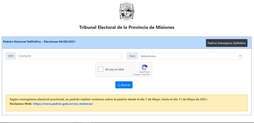 DONDE VOTAS EL 6 DE JUNIO