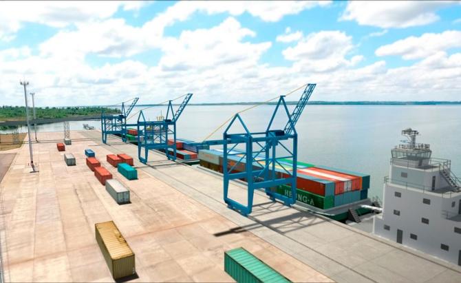 Las obras en el Puerto de Posadas finalizarían a fin de este año y estaría todo listo para empezar a operar