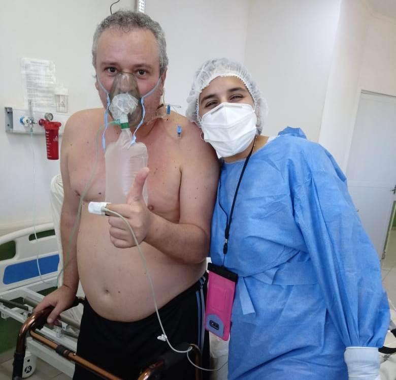 Coronavirus en Iguazú | Le pidió a una kinesióloga que lo deje morir: ahora se recupera y lo cuenta