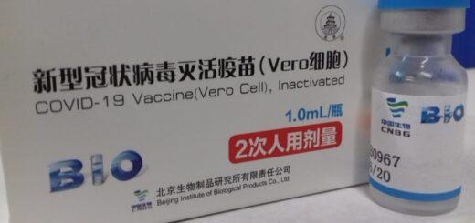 Vacunación en Misiones: llegaron 21.600 dosis de la vacuna Sinopharm