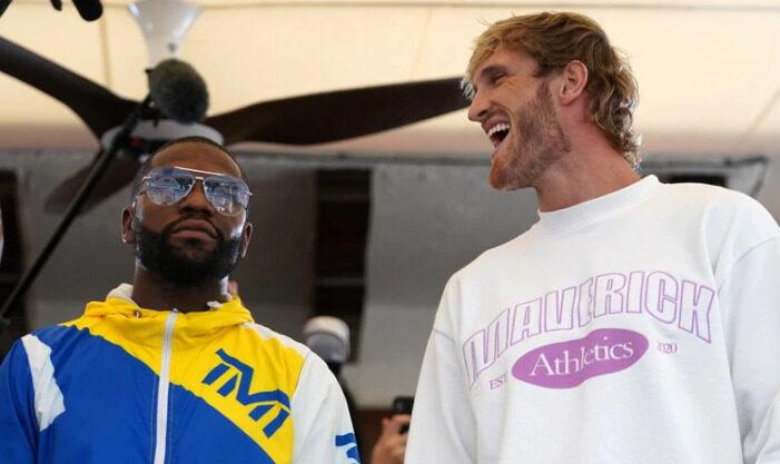 Boxeo: Floyd Mayweather se mide en una exhibición contra el youtuber Logan Paul