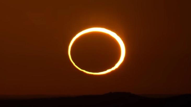 """Eclipse solar: ¿de qué se trata el """"anillo de fuego"""" y dónde se podrá ver?"""