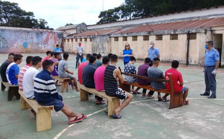 Coronavirus: vacunarán a los presos de las distintas Unidades Penales de Misiones