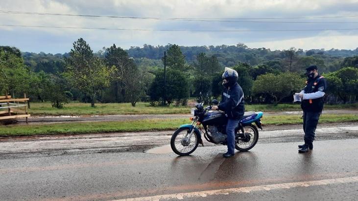 Operativos de seguridad vial: se labraron 27 actas de infracción en los controles vehiculares en Oberá